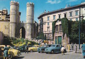 Italy Genova Casa di Colombo e Torri di Porta Soprano