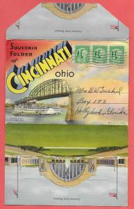 Souvenir Folder of Cincinnati, Ohio
