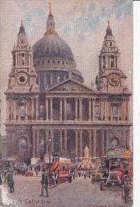 TUCK #8649, Charles E. Flower, St. Paul´s Cathedral, LONDON, England, UK, 19...