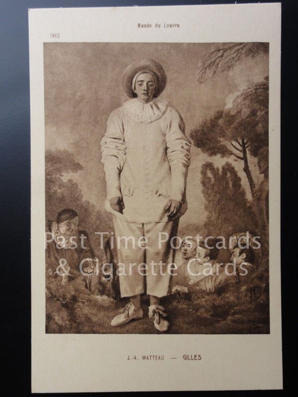 Old PC: Watteau - GILLES - Musee du Louvre