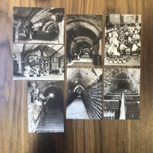 Lot Of 7 : CHAMPAGNE POMMERY GRENO REIMS-Bottling Wine Industry Factory Postcard