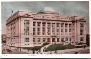 Nebraska Omaha Douglas County Court House 1912