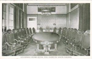 Washington DC Pan American Union Building Interior Governing Board Room