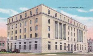 VICKSBURG, Mississippi, 30-40s; Post Office
