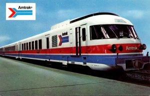 Amtrak Jet Powered Turboliner Turbine Train