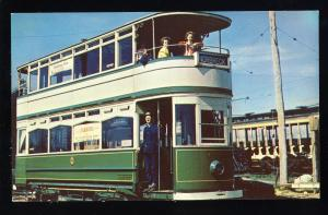 North Kennebunkport, Maine/ME Postcard, Seashore Electric Railway