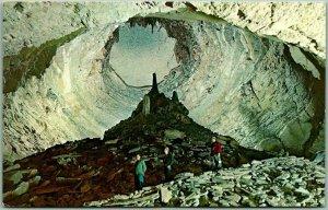 Wyandotte Caves State Park, Indiana Postcard MONUMENT MOUNTAIN c1960s Chrome