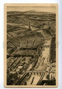 138670 France PARIS Wharf seen at Bird Flies Vintage postcard