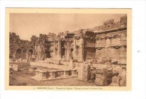 BAALBEK (Syrie now Lebanon), 1910s : Temple de Jupiter