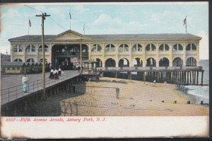 America Postcard - Fifth Avenue Arcade, Asbury Park, New Jersey    DP603