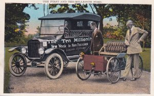 The First and Ten-Millonth Ford, New York to San Francisco, Lincoln Highway, ...