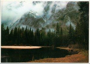 postcard Mity Moods at Yosemite National Park - oversized 5 x 7