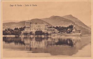 ITALY, 1900-1910´s; Lago Di Garda, Isola Di Garda
