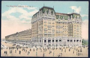 The Breakers Hotel Atlantic City New Jersey unused c1910's