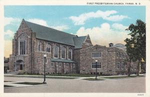 FARGO, North Dakota, 1900-10s; First Presbyterian Church