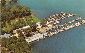 Lake Front Motel Cooperstown, New York Postcard
