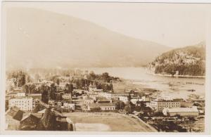 RP, Panorama, Looking West, Nelson, British Columbia, Canada, 1930-1940s
