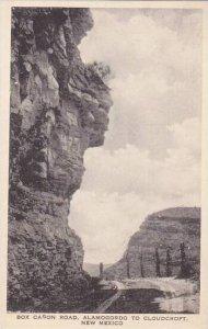 New Mexico Box Canon Road  Alamogordo To Cloudcroft Albertype