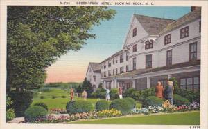 North Carolina Blowing Rock Green Park Hotel