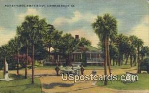 Fort Screven Savannah Beach GA 1946