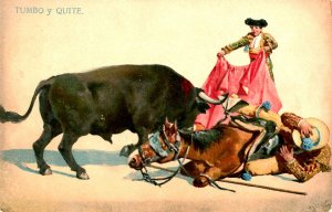 Bullfighting - Lie Down and Escape