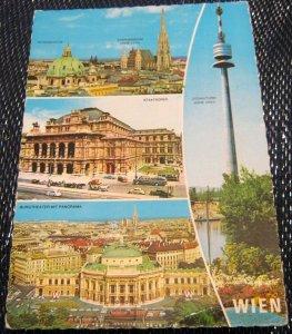 Austria Grusse aus dem Schonen Wien W130 - posted 1974