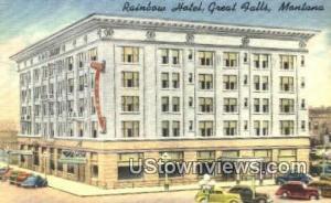 Rainbow Hotel Great Falls MT Unused