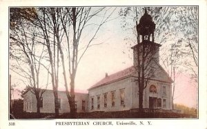 Presbyterian Church in Unionville, New York