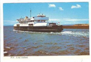 M. V. Lord Selkirk- Ferry Service Between Wood Island, Prince Edward Island &...