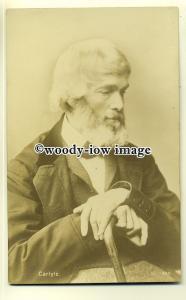 su1906  - Thomas Carlyle, a Scottish Philosopher & Satirical Writer -  postcard