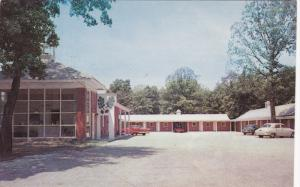 Twin Oaks Motel , ASHLAND , Virginia , 50-60s