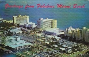 Florida Miami Beach Greetings From Fabulous Miami Beach Hotels Deauville And ...