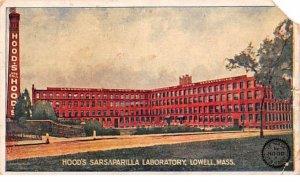 Hood's Sarsaparilla Laboratory Lowell, Massachusetts Postcard