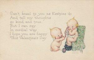 Rosie O'NEILL; Valentine's Day ; Kewpie couple , 1910-20s