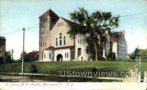 St. Johns M.E. Church New Rochelle NY Unused