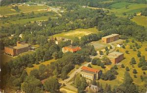 Greenville Pennsylvania~Thiel College~Aerial View~1956 Postcard