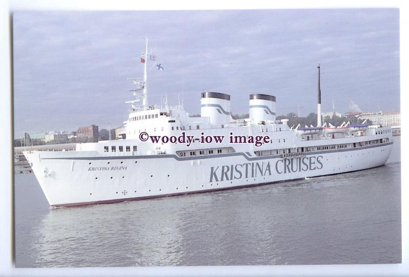 LN0599 - Kristina Cruises Liner - Kristina Regina , built 1960 ex Bore -postcard