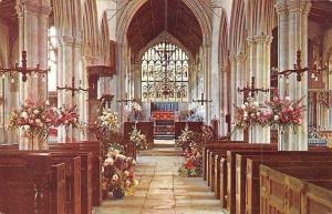 England Norfolk, Walpole St. Peter Church Interior: The Nave