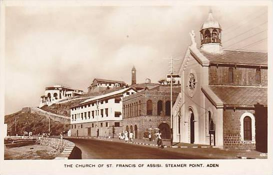 RP: ADEN , Yemen , 00-10s ; Church of St Francis of Assisi
