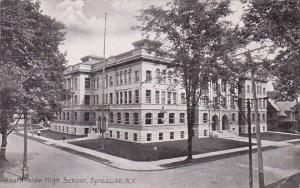 New York Syaucuse South Side High School