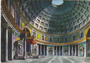 Italy Roma Rome Interno del Pantheon