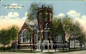 First Methodist Church - Waterloo, Iowa IA