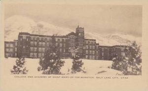 Utah Salt Lake City College And Academy Of Saint Mary Of The  Wasatch Artvue