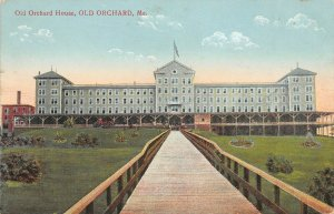 LPS58 Old Orchard Maine Vintage Postcard Old Orchard House