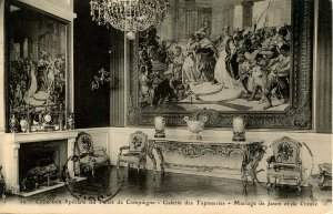 France - Compiegne. Collection of Tapestries in the Palace