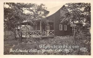 Geo E Marks Cottage Yankee Lake NY Unused