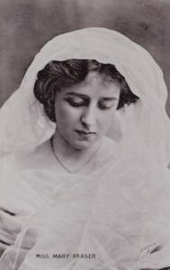 ACTRESS , Miss Mary Frasher , 1900-10s ; TUCK S 1288