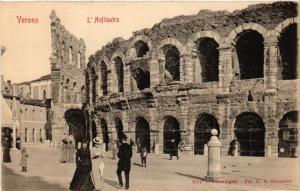 CPA VERONA L'Anfiteatro . ITALY (493775)