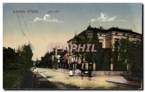 Old Postcard Landau