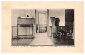 Connecticut  Woodbury  Glebe House , Election Room
